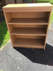PINE EFFECT BOOKCASE - CAN DELIVER