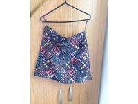 Funky miniskirt pattern