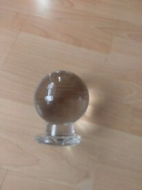 Fortune telling crystal ball