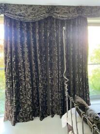 Luxury velvet curtains
