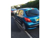 Cheap Peugeot 207 1.4 hdi 5 door mot March tax only £35 a year