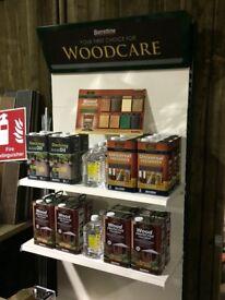 Barrettine wood care products