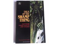 SAGA OF THE SWAMP THING - Alan Moore (DC Comics First Printing - 1987)