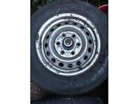 Toyota Hiace power van wheel tyres