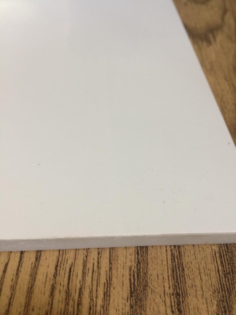 White High Gloss Floor Tiles