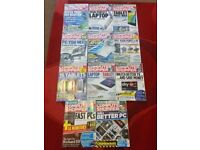 REDUCED 11 Computer Shopper Magazines - May 2013 & Various- Some Brand New