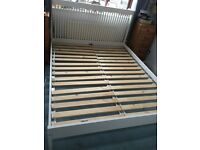 Lovely white IKEA King sized bed frame
