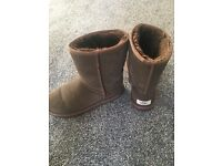 Chocolate UGG boots Size 5