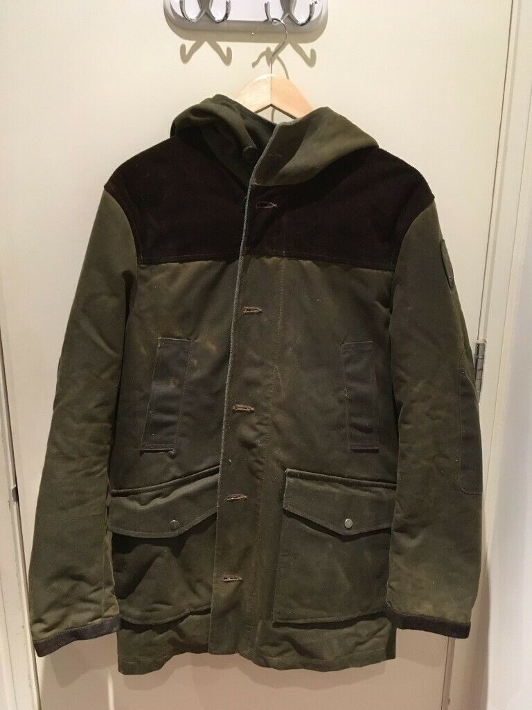 273ef9401 Tommy Hilfiger x Blauer limited edition waxed cotton parka with tweed,  suede, and colour lining in S | in City of London, London | Gumtree