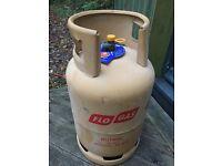 Flo Gas Butane Cylinder, full, 13kg, unused, near Axminster