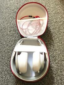 Genuine Dre Beats Mixr Headphones (White)