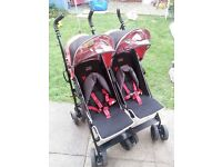 obaby sport double buggy