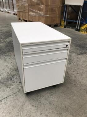Rollcontainer Weiß Svoboda 3 Schubladen Gr Mengen Verfügbar In