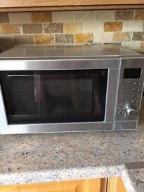 Chrome microwave