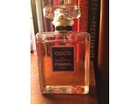 Coco Chanel large 100ml Slightly used