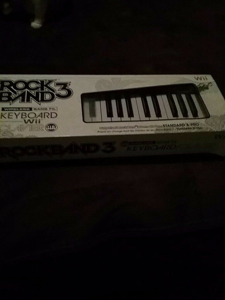 Wii Keyboard for rock band 3