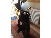 Chicago SGS Golf clubs and bag