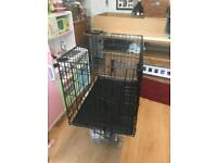 SOLD dog cage