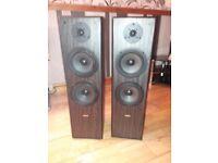 Pair floor standing speakers
