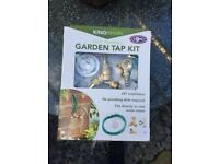 New Garden tap (unused and still boxed) water hose fitting.