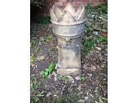 Chimney pot - From Victorian terraced house - garden decoration