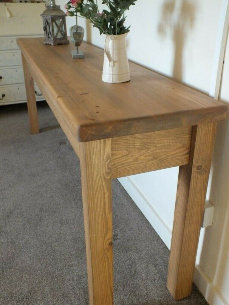 Sidetable 3 Meter.A Lovely 2 Metre Long Rustic Console Table Hall Or Kitchen Dining Room Side Table In Brigg Lincolnshire Gumtree