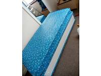 Kids Duvan Bed and mattress