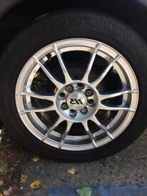 Alloy wheels multi stud Vauxhall ford Peugeot Citroen rover mg
