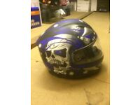 Blue Crash helmet