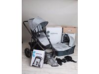 Uppababy Vista System 2013 in Silver grey