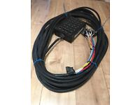 SoundLab SSB-20 multicore 12/4 stage snake