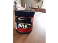 Gold Standard 100% Whey Protein 176g Delicious Strawberry & 176g Vanilla Ice Cream