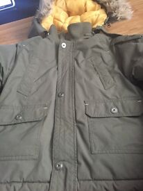 Timberland boys coat in ex con