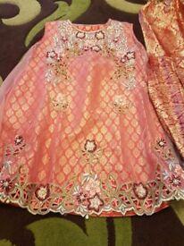 Gharara dress.