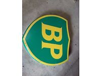BP logo sign