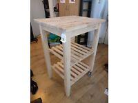 IKEA kitchen trolley (BEKVÄM) - birch - Collection Only!
