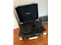Crosley Executive Portable Turntable/Record Player, Brown