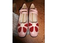 ORLA KIELY Clarks new in box - never worn only tried on for size - 6
