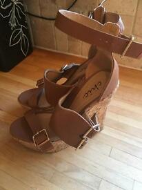 Size 3 cork wedges