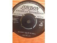 ned miller vinyl 45