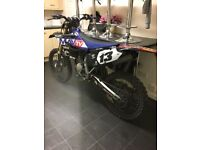 Yamaha yz 125 road registered 2016