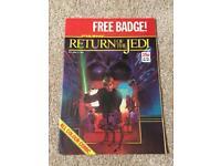 Vintage Return of the Jedi Marvel UK comics.