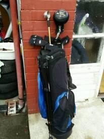 Golf Clubs, Bag