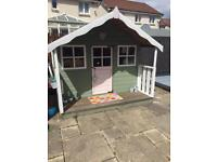 7x7 ladybird timber playhouse with veranda