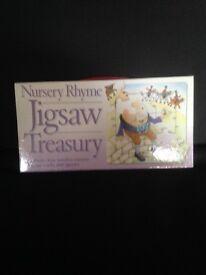 Nursery rhyme jigsaw treasury NEW