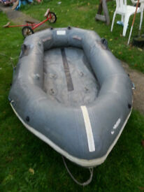 Inflatable dinghy, old but good condition