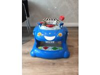 Baby's Bouncer Car interactive from Mothercare - Used Working