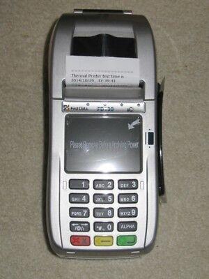 First Data Fd130 Emv Chip Card    Contactless Wifi Internet Dial