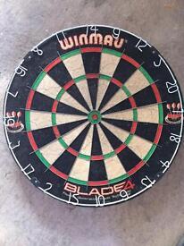 Winmau Blade 4 Dartboard, Used