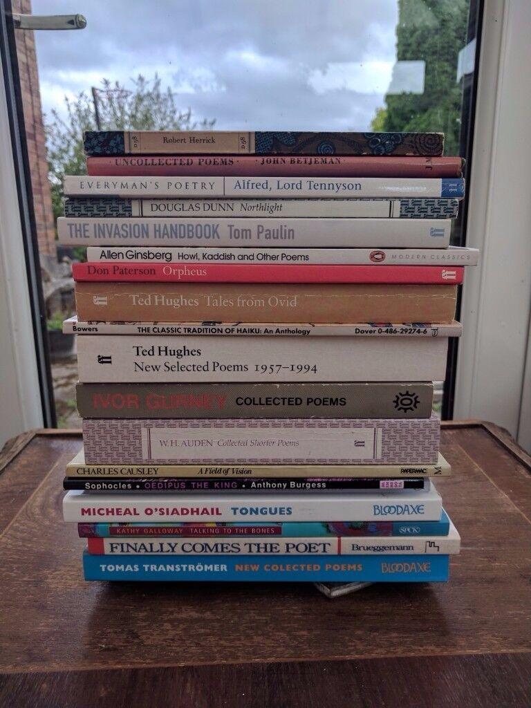 Poetry Books (English )